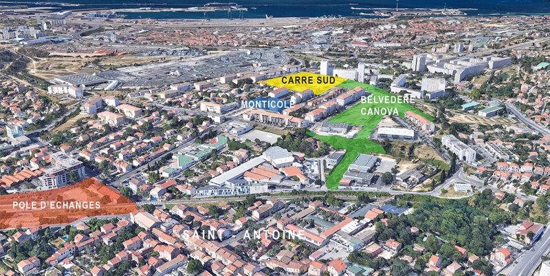 Quartiers Nord de Marseille - Plan d'aou