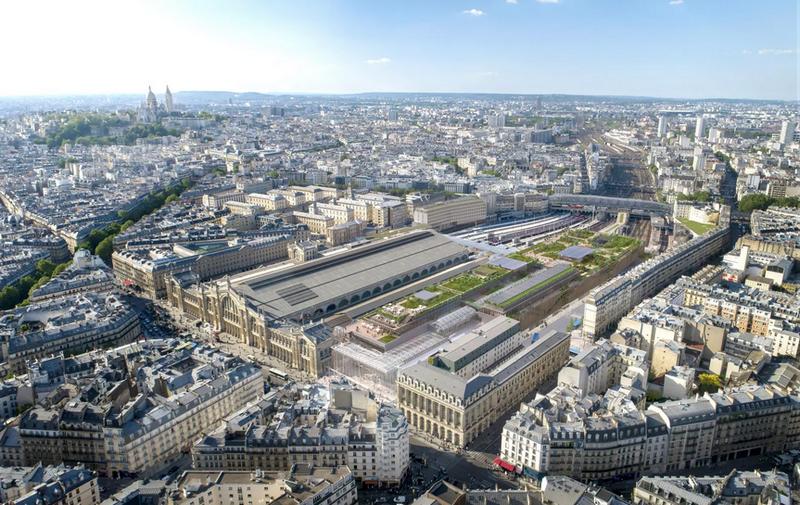 Rénovation de la Gare du Nord