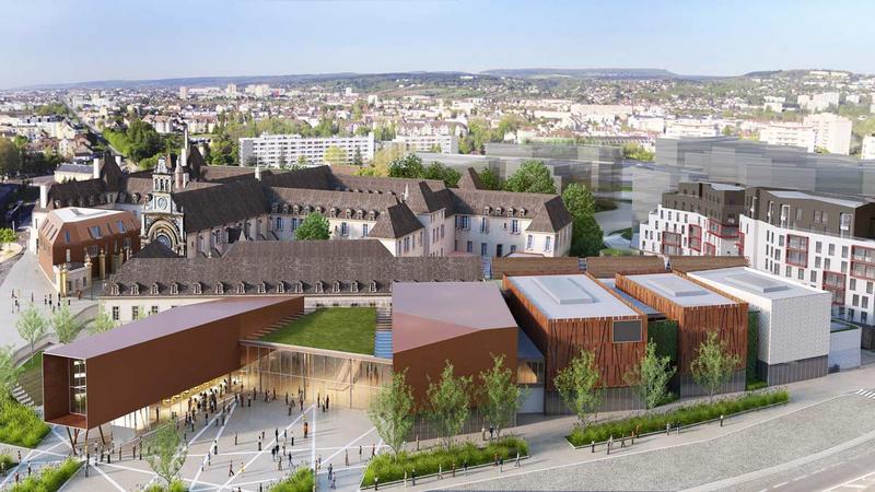 Dijon - Cité Internationale de la Gastronomie et du Vin
